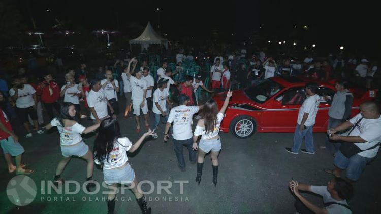 Sexy Dance ikut meriahkan event Jambore Nasional Lancer Indonesia.