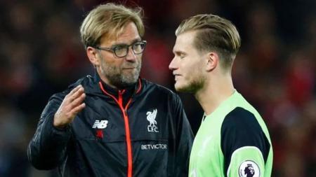 Loris Karius tidak dimainkan oleh Jurgen Klopp saat melawan Middlesbrough karena performanya tengah menurun. - INDOSPORT