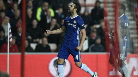 Cesc Fabregas, kunci sukses Chelsea. - INDOSPORT