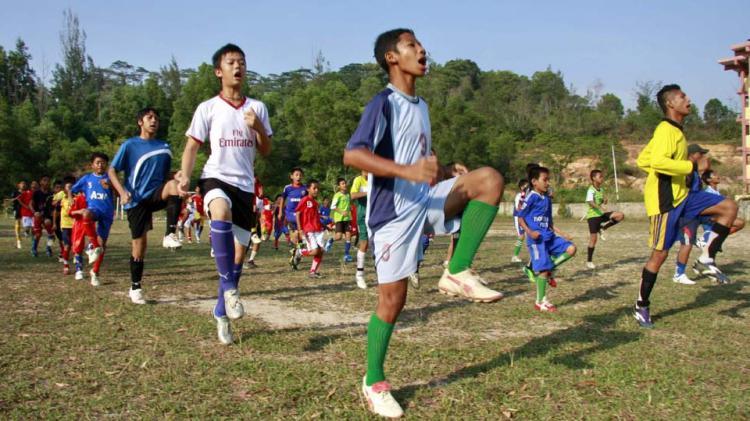 Sekolah Sepak Bola (SSB). Copyright: INTERNET