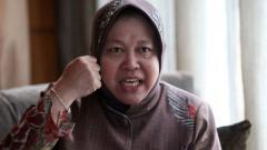 Indosport - Tri Rismaharini, Wali Kota Surabaya.