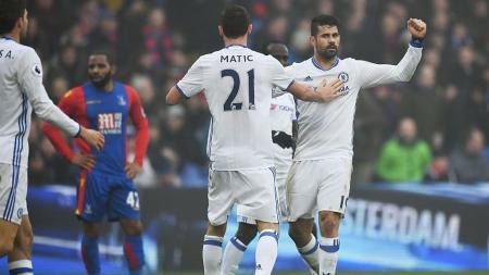 Chelsea kabarnya sudah mempunyai sosok pengganti Diego Costa, jika sang pemain sewaktu-waktu hijrah ke Liga Super China. - INDOSPORT