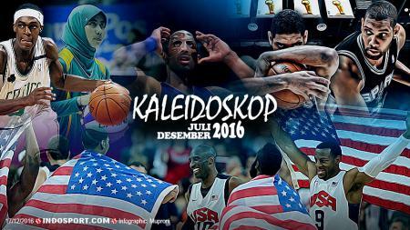 Kaleidoskop Basket Juli - Desember 2016 - INDOSPORT