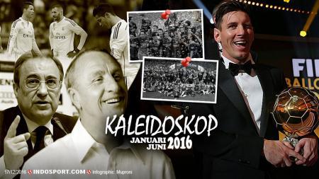 Kaleidoskop La Liga Spanyol Januari-Juni 2016 - INDOSPORT