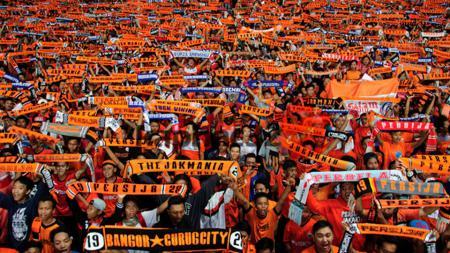 PP The Jakmania memberikan himbauan kepada para anggotanya jelang final Piala Presiden 2017. - INDOSPORT