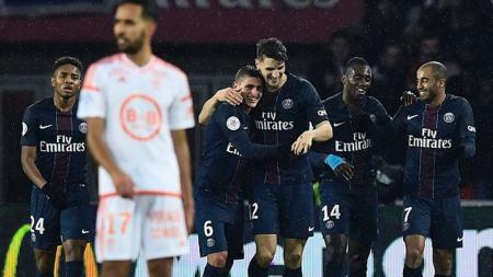 Bek Paris Saint-Germain, Thomas Meunier jadi incaran Liverpool - INDOSPORT