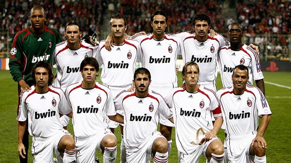 AC Milan 2007 Copyright: Getty Images