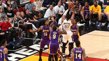 Los Angeles Lakers vs Miami Heat - INDOSPORT