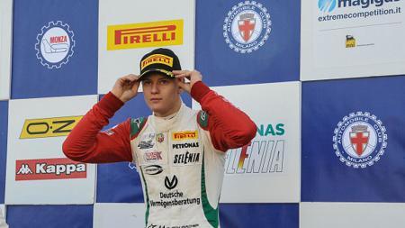 Pembalap F3, Mick Schumacher. - INDOSPORT