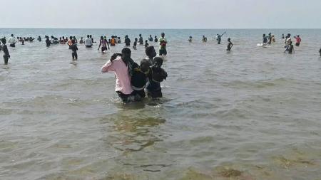Korban perahu tenggelam di Uganda - INDOSPORT