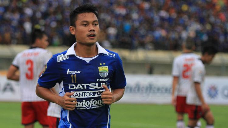 Gelandang Persib Bandung, Dedi Kusnandar Copyright: Istimewa