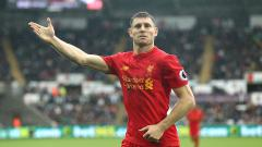 Indosport - James Milner (Liverpool)