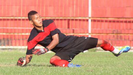 Joko Ribowo saat masih membela Madura United. - INDOSPORT