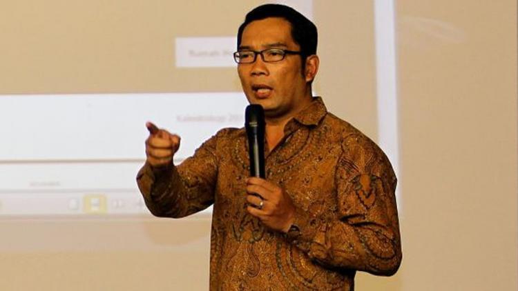 Walikota Bandung Ridwan Kamil Copyright: Okezone
