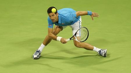 Novak Djokavic berhasil lolos dari babak kedua Italia Terbuka 2017. - INDOSPORT