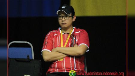 Eng Hiang, pelatih bulutangkis ganda putri Indonesia. - INDOSPORT