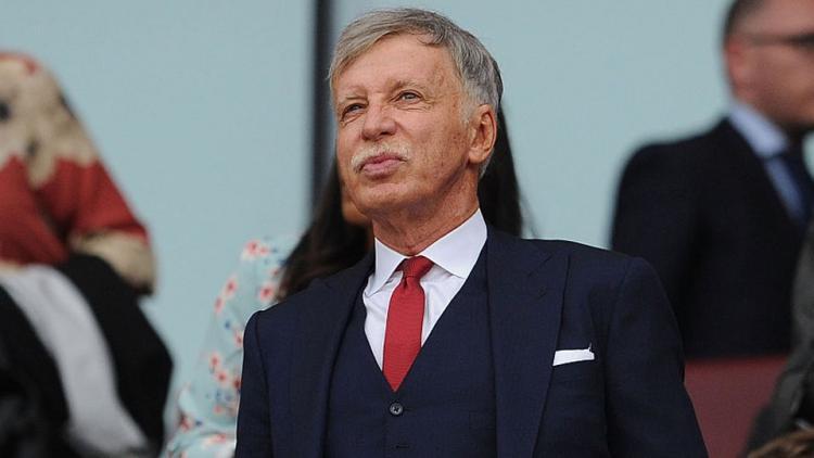 Stan Kroenke (pemilik Arsenal) Copyright: David Price/Arsenal FC via Getty Images