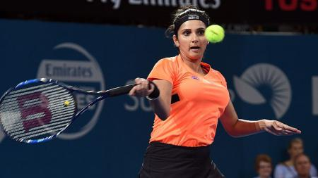 Petenis asal India, Sania Mirza. - INDOSPORT