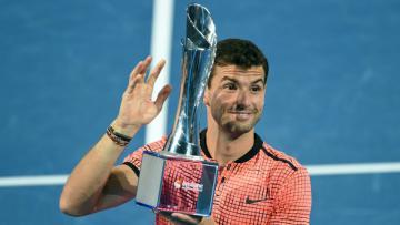 Grigor Dimitrov raih gelar pertamanya tahun 2017 di ajang Brisbane International