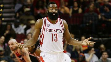 James Harden, pemain bintang milik Houston Rockets.