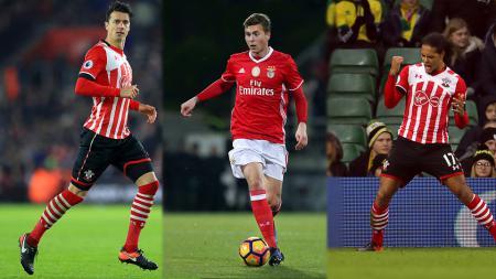 Fonte, Lindelof, dan van Dijk menjadi incaran Manchester United. - INDOSPORT