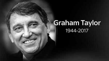 Graham Taylor (1944-2017). - INDOSPORT