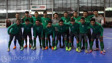 Skuat Timnas Futsal Indonesia.