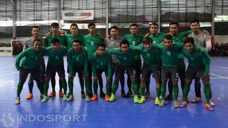 Skuat Timnas Futsal Indonesia. - INDOSPORT