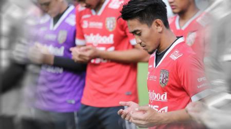 M. Taufiq, gelandang Bali United. - INDOSPORT