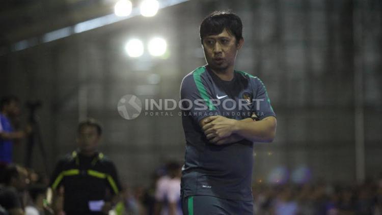 Pelatih Timnas Futsal Indonesia, Rendy Irawan.