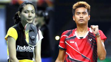 Pasangan ganda campuran baru, Gloria Emanuelle Widjaja dan Tontowi Ahmad.