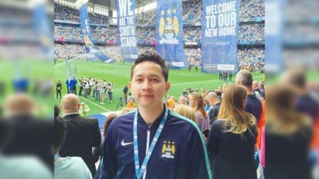 Hanif Thamrin, Tim Media Manchester City. - INDOSPORT