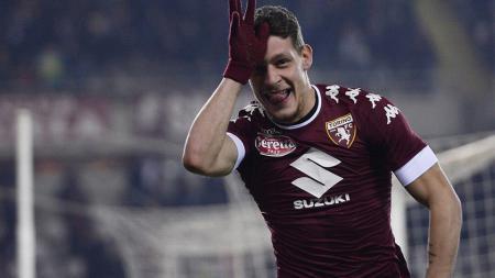 Deretan klub besar Eropa mengantre untuk mendapatkan bomber klub Torino, Andrea Belotti, pada bursa transfer musim panas ini. - INDOSPORT