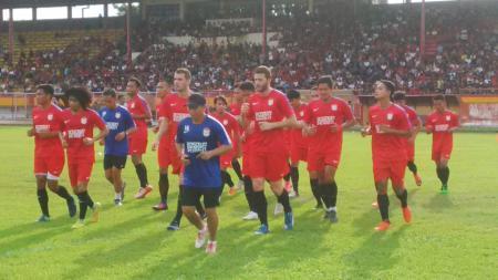 Latihan PSM Makassar. - INDOSPORT
