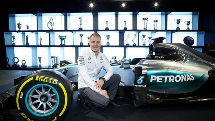 Pembalap anyar Mercedes, Valtteri Bottas.