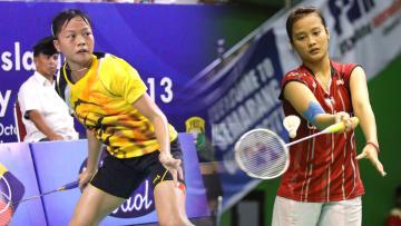 Fitriani dan Hanna Ramadini (tunggal putri Indonesia)