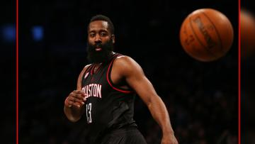 James Harden, point guard milik Houston Rockets.