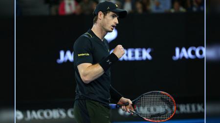 Andy Murray, petenis ranking satu dunia. - INDOSPORT