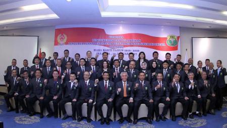 Kepengurusan Persatuan Bulutangkis Seluruh Indonesia (PBSI). - INDOSPORT