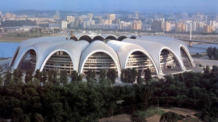 Stadion Rungrado Copyright: Istimewa