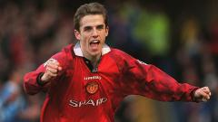 Indosport - Phil Neville (Manchester United)