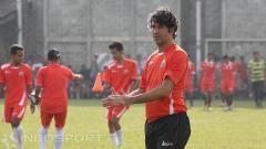 Indosport - Pelatih anyar Persija Jakarta, Stefano Cugurra Teco.