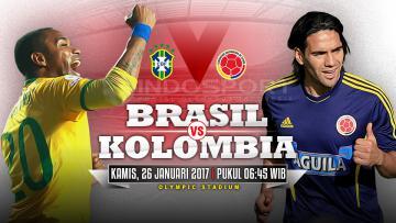 Prediksi Brasil vs Kolombia.