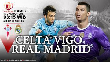 Prediksi Celta Vigo vs Real Madrid.