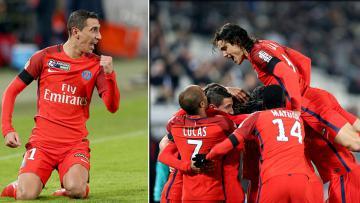 Bordeaux vs Paris Saint-Germain.