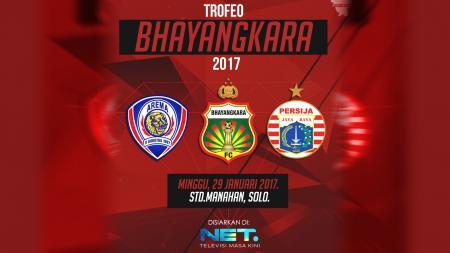 Trofeo Bhayangkara 2017. - INDOSPORT