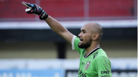 Mantan kiper Borneo FC, Alfonsius Kelvan. - INDOSPORT