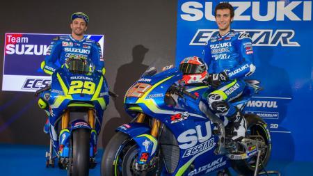 Suzuki telah menunjuk seorang pembalap Jepang untuk menggantikan posisi Alex Rins sementara waktu. - INDOSPORT