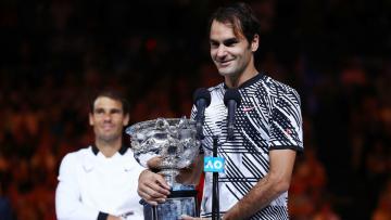Roger Federer memenangkan Australia Terbuka 2017.