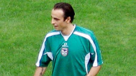 Dimitar Berbatov saat masih berseragam Pirin Blagoevgrad. - INDOSPORT